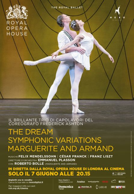 THE DREAM - SYMPHONIC VARIATION/MARGUERITE AND ARMAND| IN DIRETTA DAL ROYAL OPERA HOUSE 2016/2017